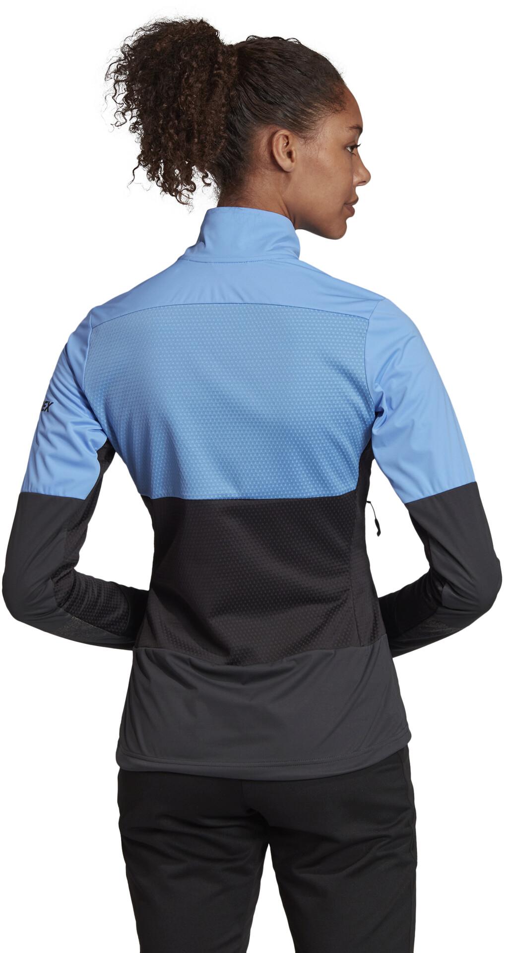 adidas TERREX Xperior Light Jacke Damen real bluecarbon
